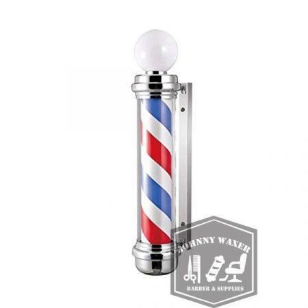 Đèn xoay Barber Pole Mefeir 105cm là một vật dụng không thể thiếu đối với một tiệm Barber truyền thống
