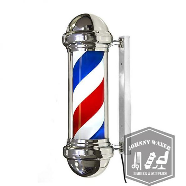 Đèn xoay Barber Pole Stripes 76 cm