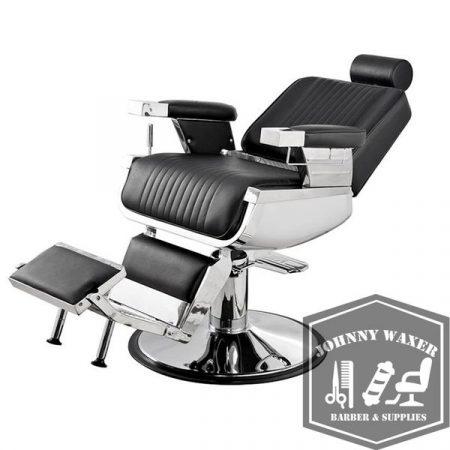 Ghế cắt tóc nam Alexander Barber Chair khi ngả