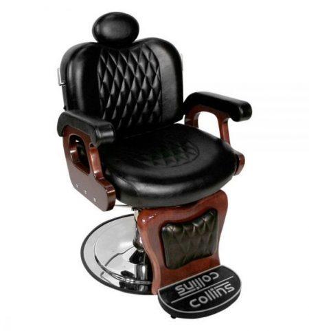 Kiểu dáng sang trọng của ghế cắt tóc Barber Collins