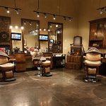 Ghế cắt tóc nam Barber Collins trong không gian Barber Shop