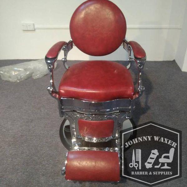 Collins 8088 Princeton Barber Chair ảnh thực tế