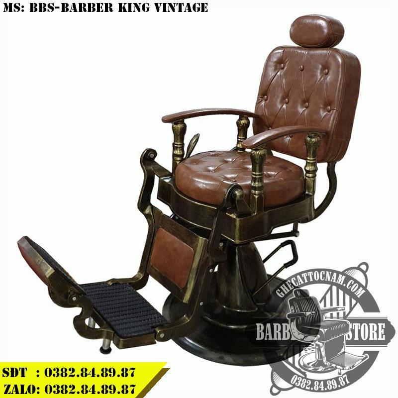 Ghế cắt tóc BBS-Barber King Vintage