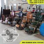 BBS-Barber King Vintage với nhiều màu sắc khác nhau tùy chỉnh