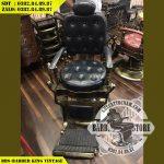 Ghế hớt tóc cao cấp BBS-Barber King Vintage