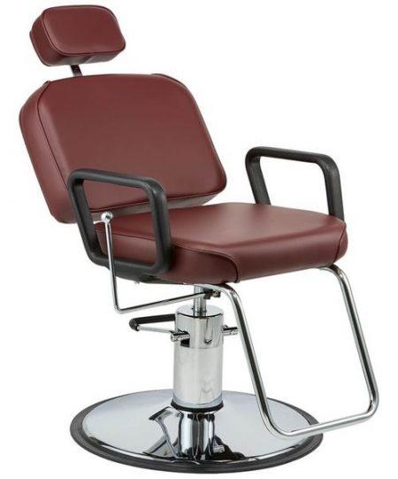 Ghế có thể ngả thoải mái, với phần đầu tựa điều chỉnh dễ dàng