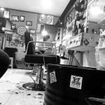 Ghế cắt tóc nam BBS-38006 chụp thực tế