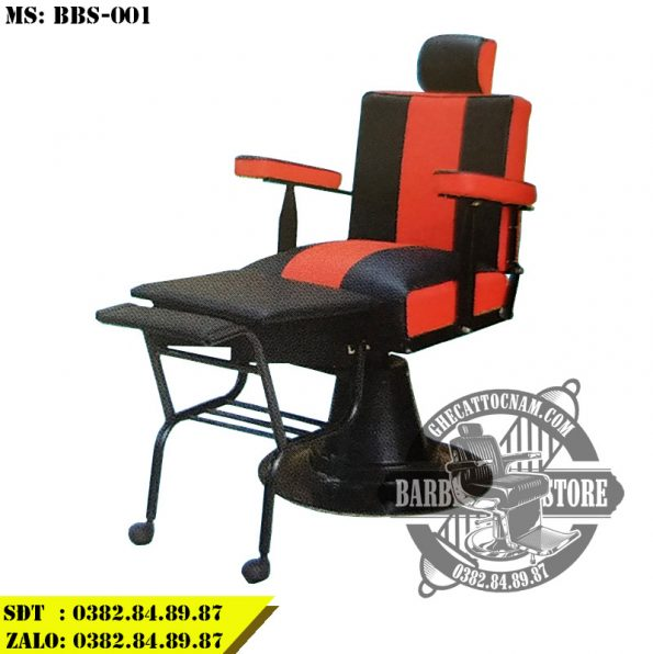 Ghế cắt tóc barber giá rẻ BBS-001