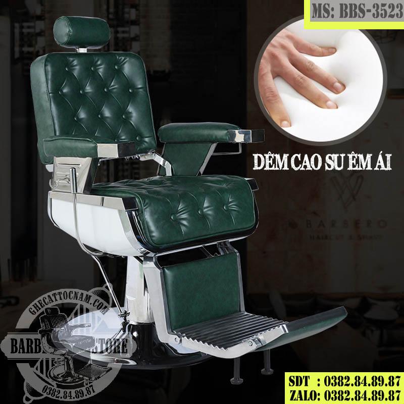 Phần đệm ghế cắt tóc Barber cao cấp BBS-3523