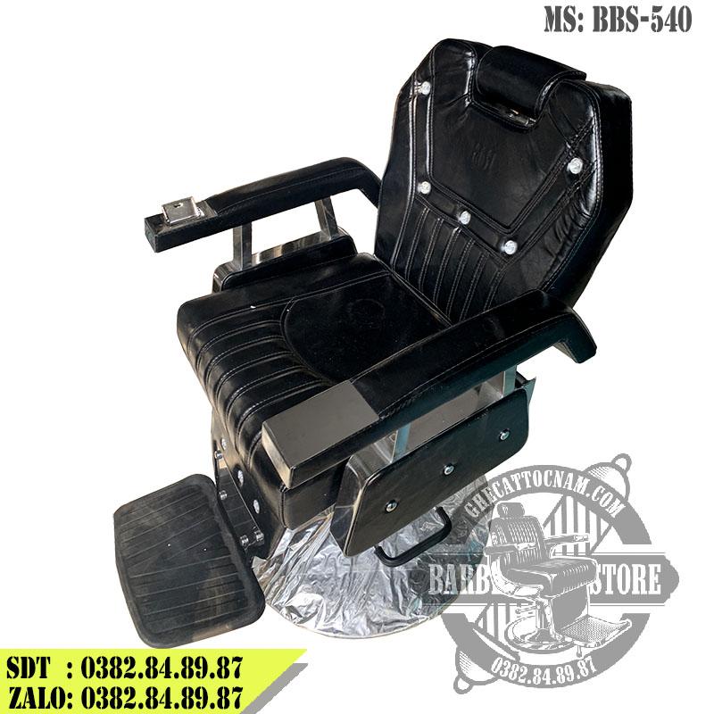 Ghế cắt tóc nam BBS-540 màu đen nguyên bản