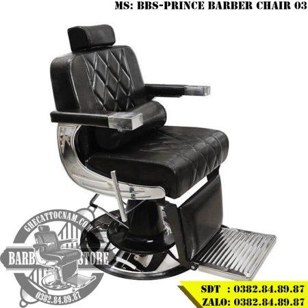 Ghế cắt tóc nam cao cấp BBS-Prince Barber Chair 03