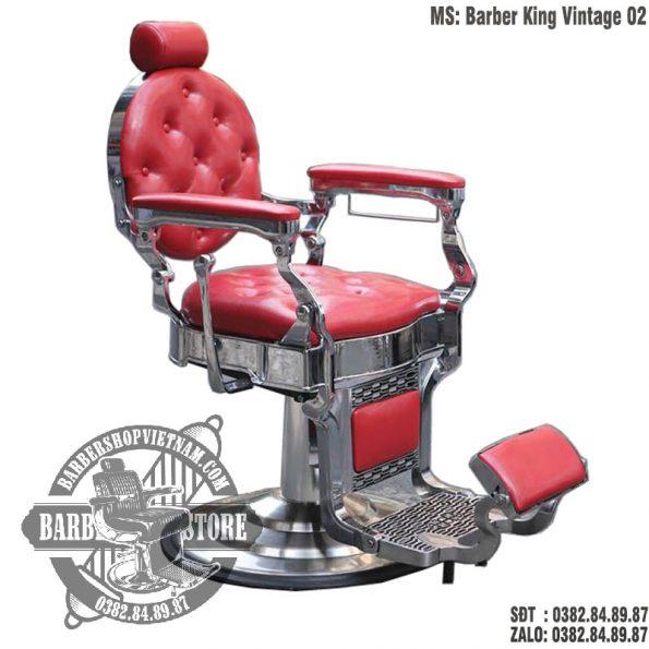 Ghế cắt tóc cao cấp BBS-Barber King Vintage 02