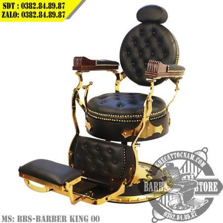 Ghế cắt tóc nam BBS-King Barber chair 00 với thiết kế tinh xảo