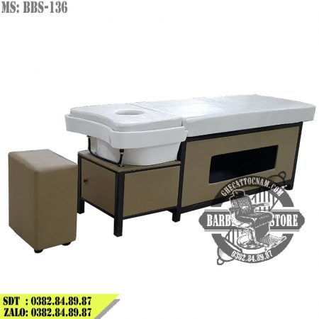 Giường gội đầu 2 in 1 cao cấp BBS-136