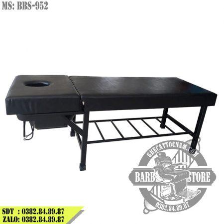 Giường gội 2 in 1 BBS-952 màu đen