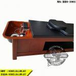 Giường gội đầu Massage BBS-1001 khung gỗ cao cấp
