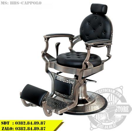 Ghế cắt tóc nam cao cấp BBS-Cappolo