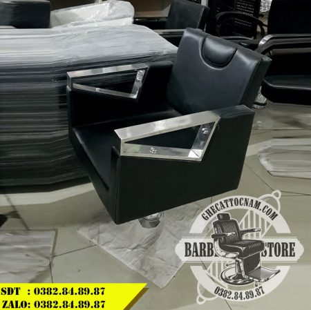 Ghế cắt tóc nam nữ giá rẻ BBS-126N tại showroom