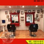 Ghế cắt tóc BBS-527 khi lên tiệm